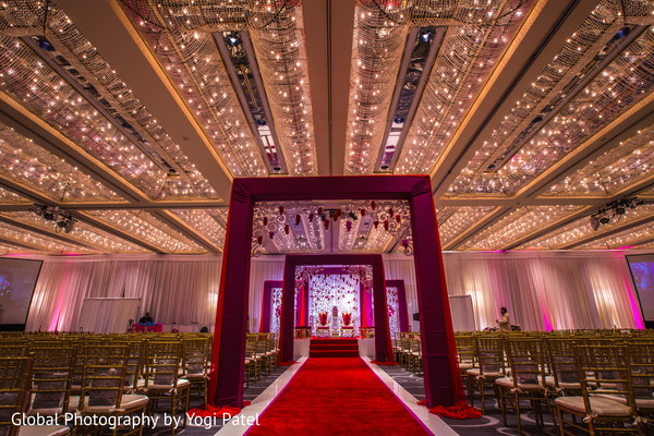 Indian wedding in the Regency Ballroom at the Hyatt Regency Long Beach
