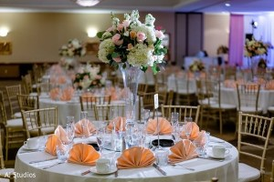 Indian wedding reception at the Embassy Suites Anaheim South