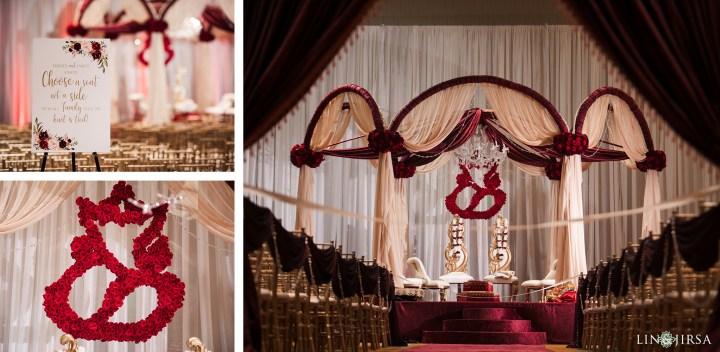 Indian wedding ceremony at the Hyatt Regency Orange County