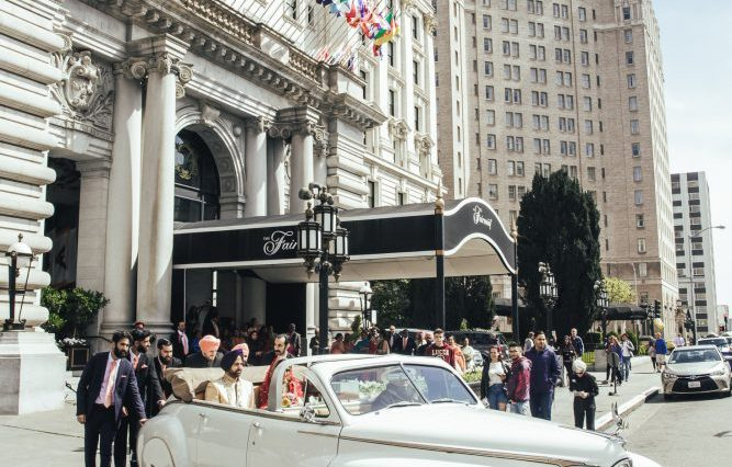 Indian wedding at the Fairmont San Francisco
