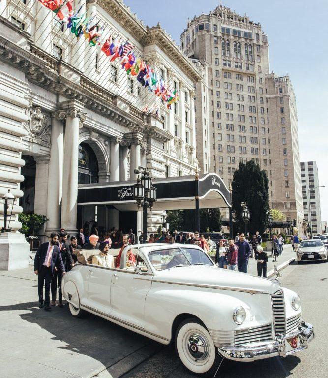 Indian wedding at the Fairmont San Francisco