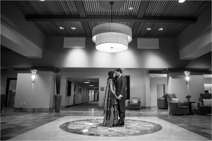 Indian wedding reception Santa Clara Marriott