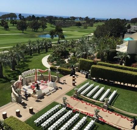 Indian wedding at the Hilton La Jolla Torrey Pines