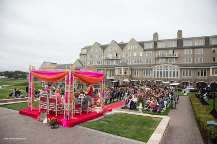 Indian wedding ceremony at The Ritz-Carlton Half Moon Bay
