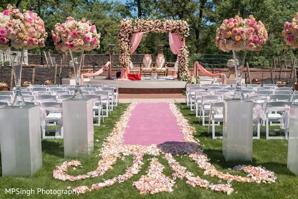 Indian wedding mandap at the Silverado Resort & Spa
