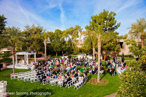 Indian wedding ceremony at Arizona Biltmore