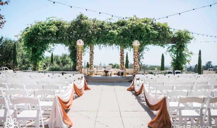 Indian wedding mandap at Chaminade Resort & Spa