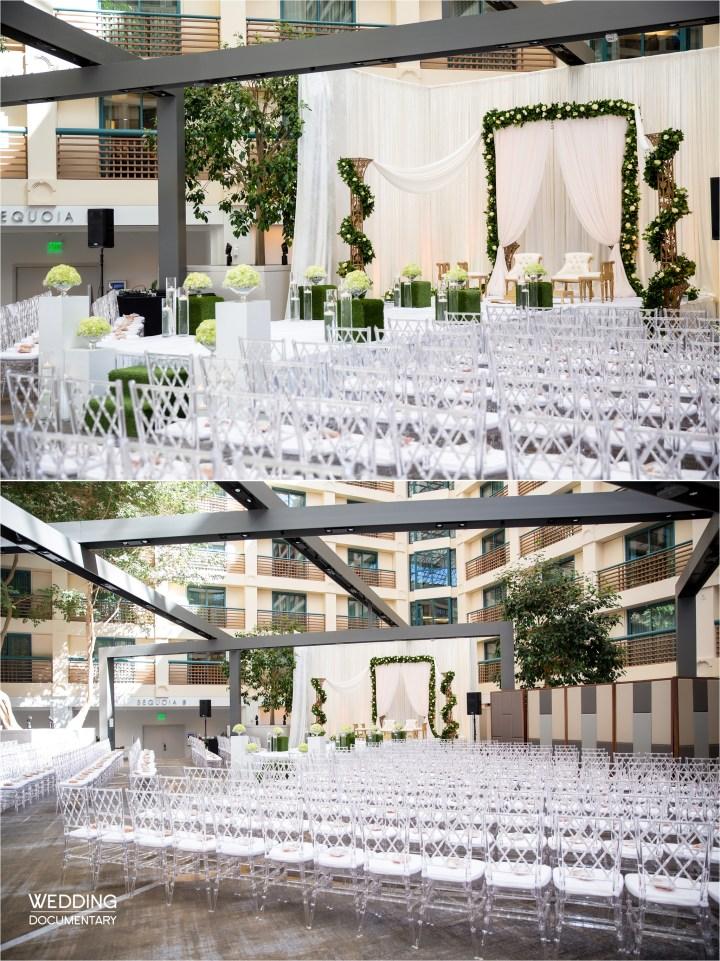 indoor Indian wedding