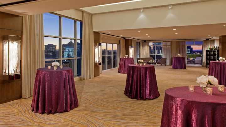 The Capitol View Room at the Hyatt Regency Sacramento
