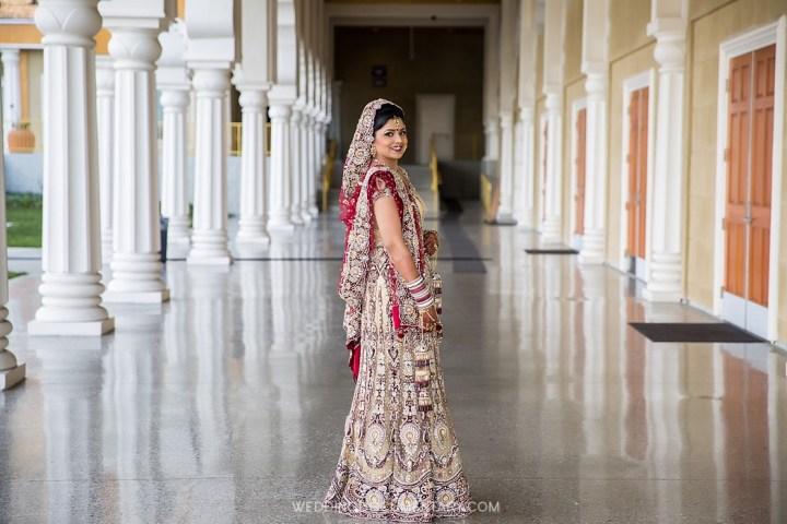 Infian bride at San Jose Gurdwara