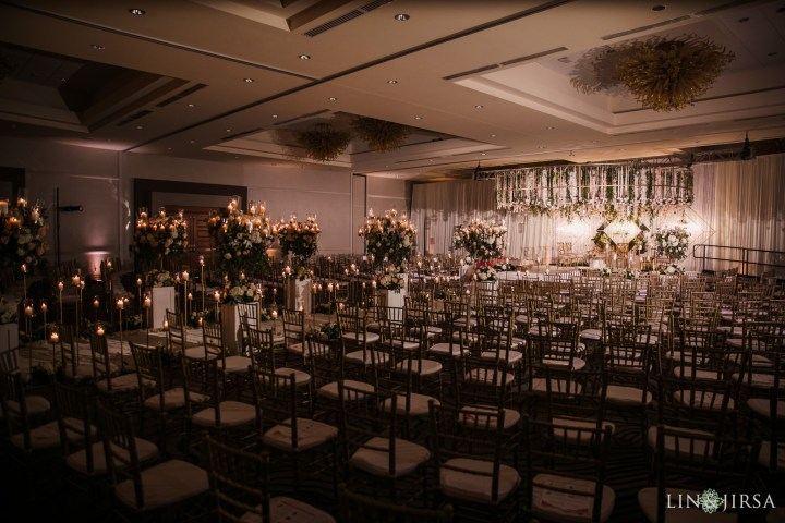 Indian wedding reception at the San Jose Marriott