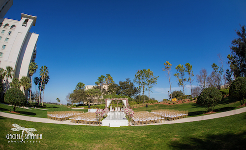 Indian wedding ceremony at Omni Orlando Championsgate