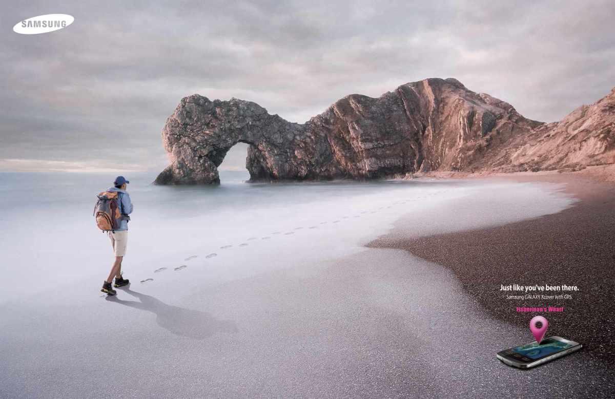 samsung-outdoor-phone_footprint_beach