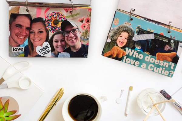Long Distance DIY Photo Book