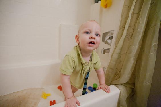 Titus in the Tub