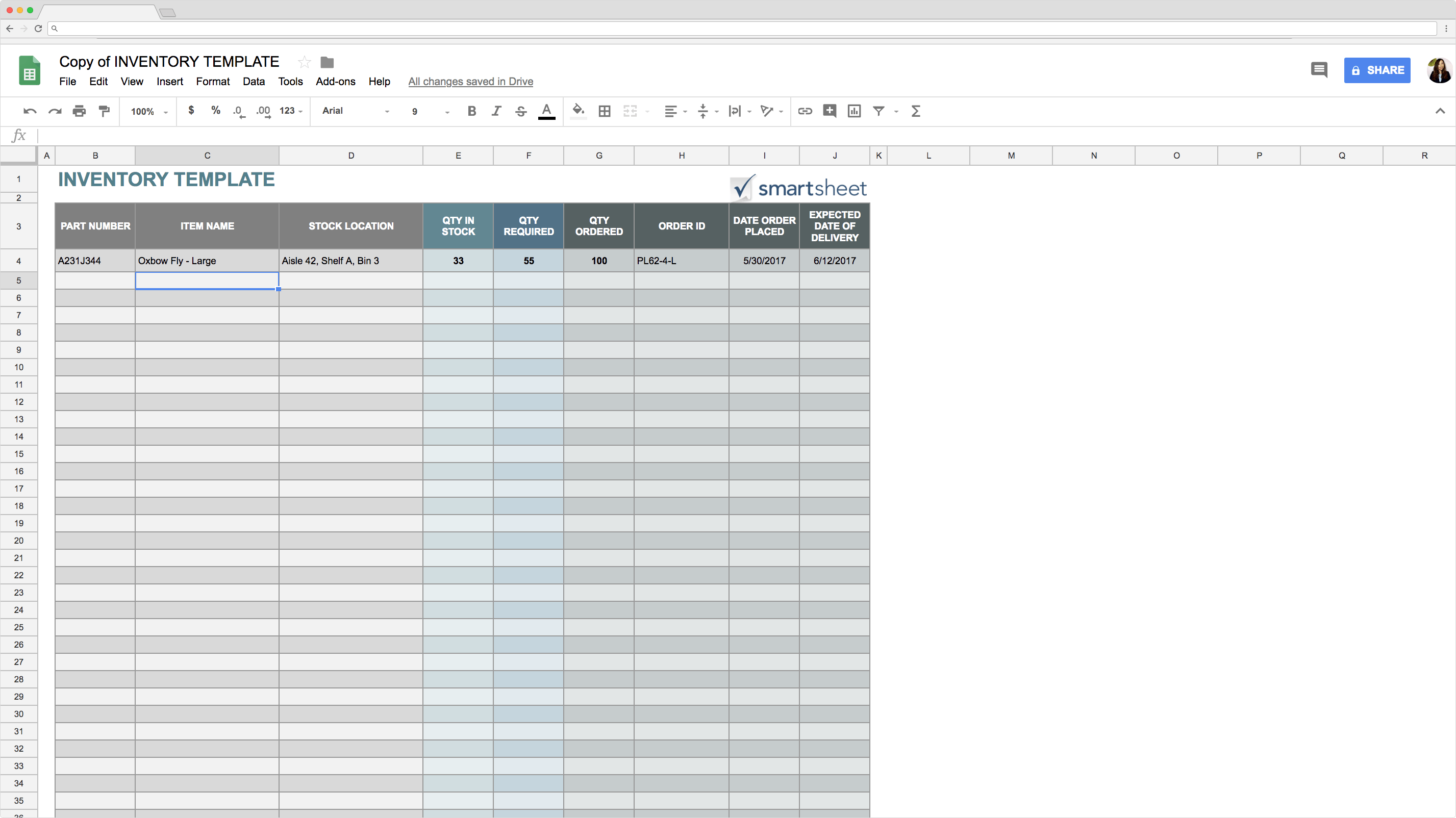 Top 5 Free Sheets Inventory Templates