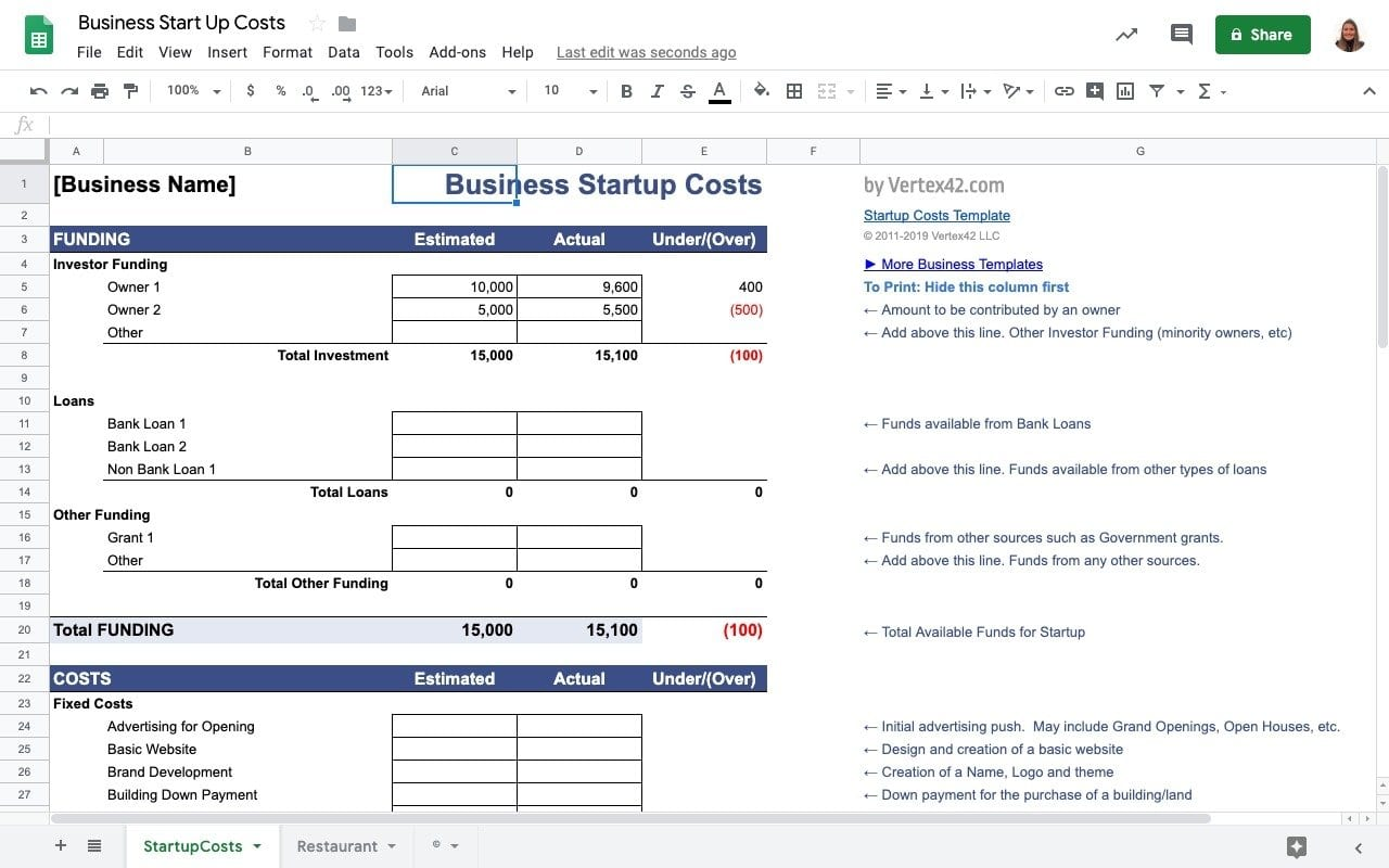 Our designer business plan templates are 100% unique. Top 5 Free Finance Templates In Google Sheets Sheetgo Blog