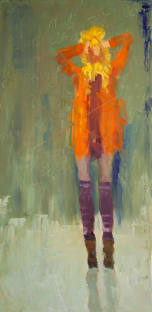Figurative Abstract Oil Painting