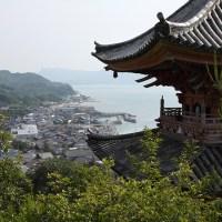 生口島の向上寺三重塔