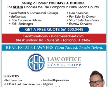 #1 Real Estate Attorney Lantana Florida