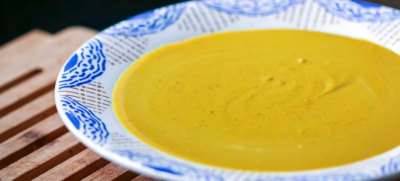 crème du Barry au curry, une recette de Epices Shira