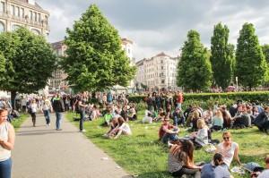 Oranienburger Platz Berlin MyFest 2014