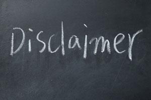 Disclaimer im Impressum: zulässig oder wettbewerbswidrig?