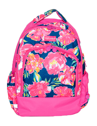 Simply Southern Hibiscus Backpack