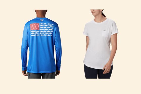 Columbia Men's and Women's Shirts