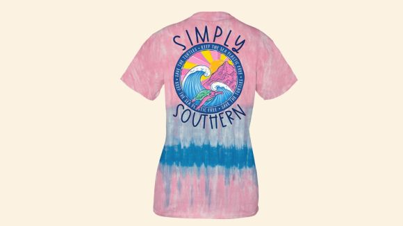 Women's Simply Southern Save the Turtles Short Sleeve T-Shirt