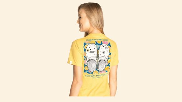 Women's Simply Southern Clogs T-Shirt