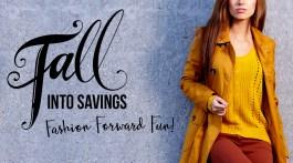 Fall into Savings - Fall Fashion Trends