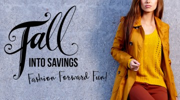 Fall into Savings - Fall Fashion Trends