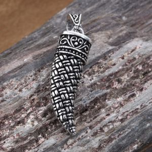 Sterling Silver Horn Pendant