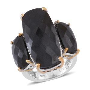 gemstone trends - Classic and stylish, black beauties have a home in every collection.