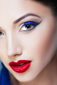 A popular summer makeup tip is to use bright and vibrant colors.