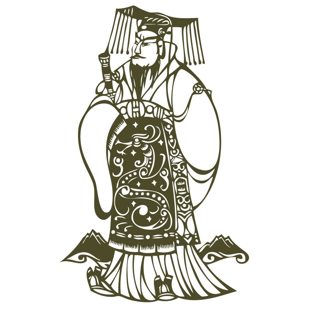 Depiction of the Jade Emperor