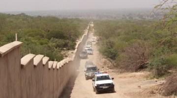 Tanzanite Wall