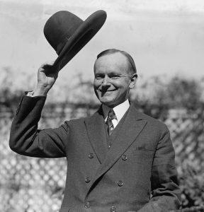 President Coolidge.