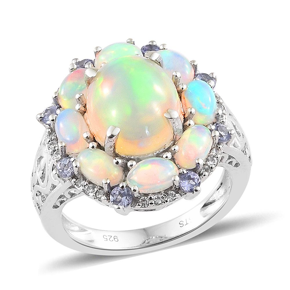 Ethiopian Welo opal ring