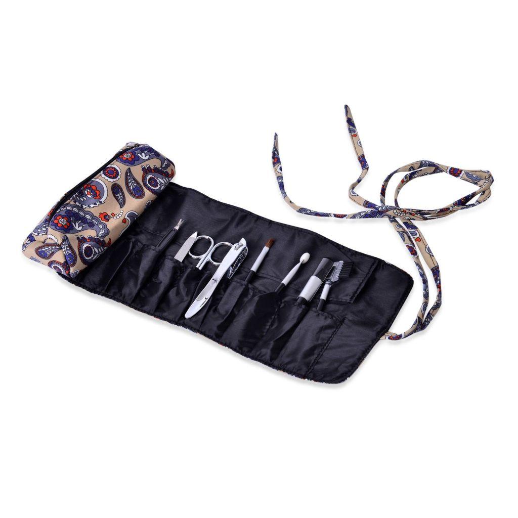 Foldable makeup tool kit