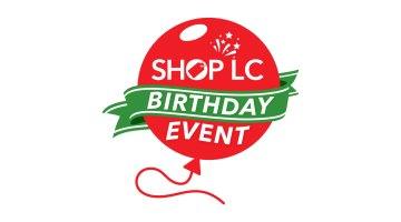 Shop LC birthday event
