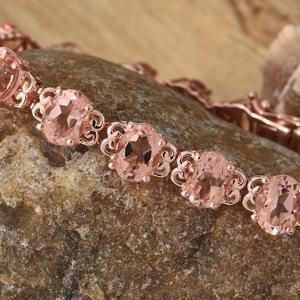 Pink morganique bracelet in vermeil rose gold.