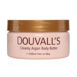 Unscented tub of body butter cream.