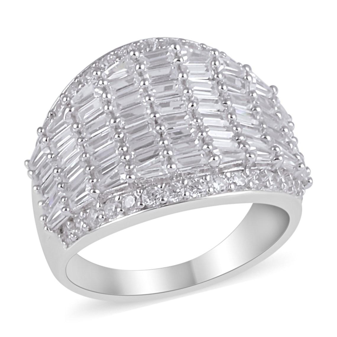 Lustro Stella cubic zirconia ring.