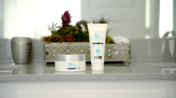 CrepeSilk skincare products.