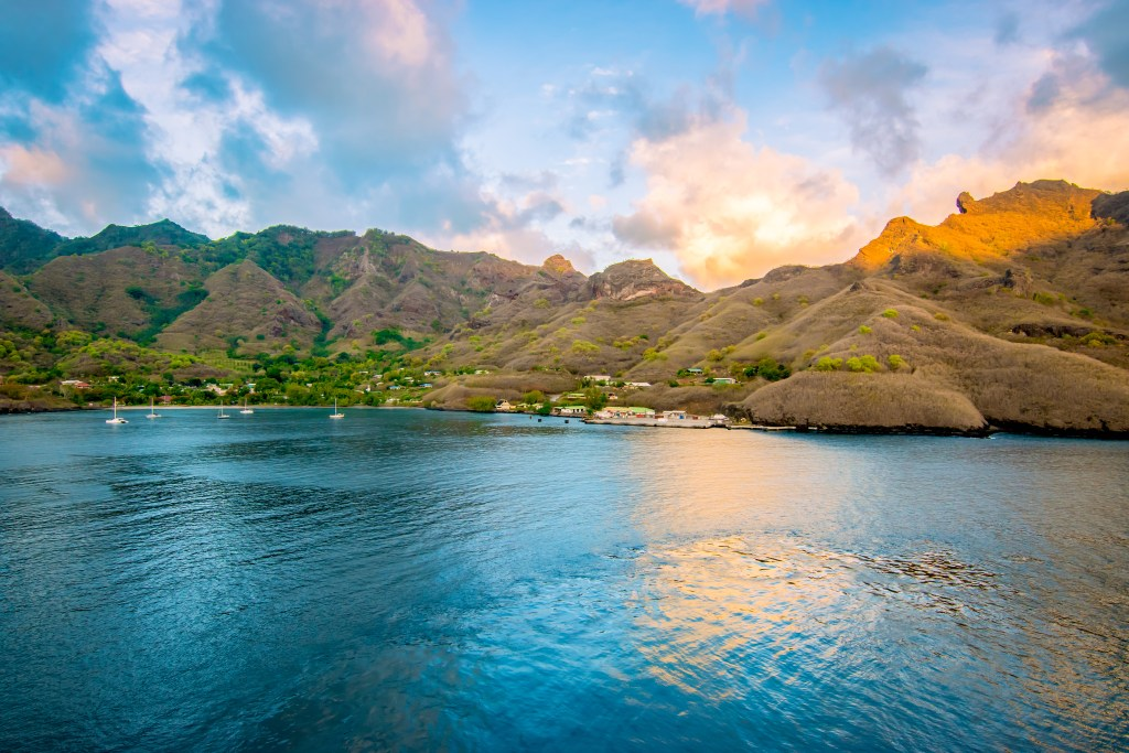 Beautiful French Polynesia.