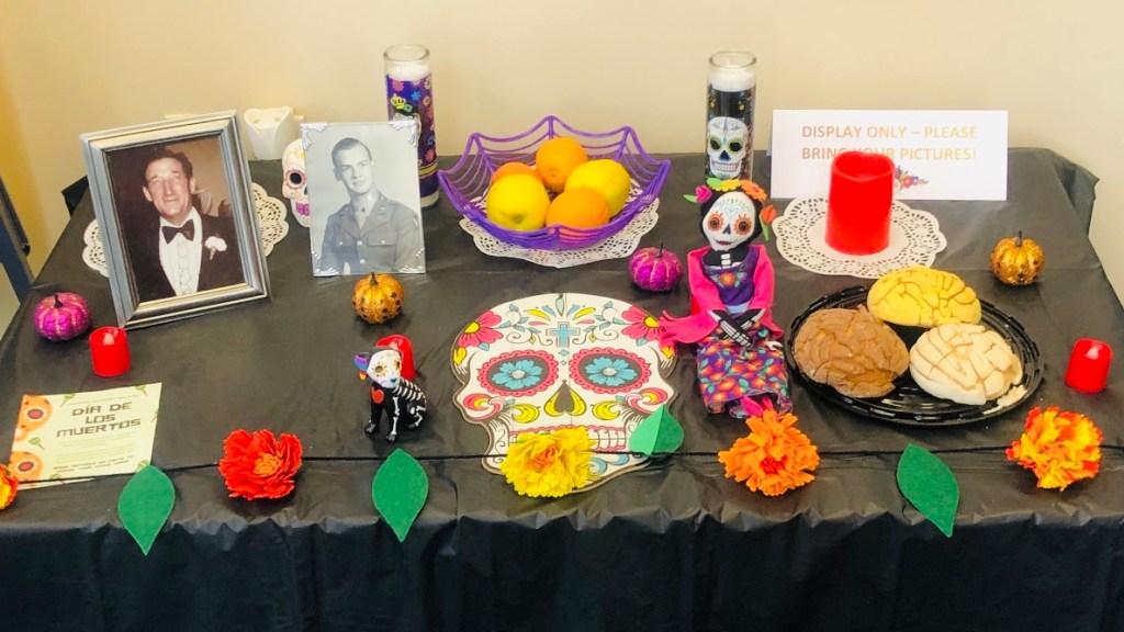 Dia de los Muertos altar from Shop LC.