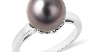 The Bible Pearl Cultured Tahitian Pearl Ring.