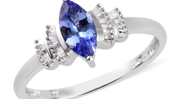 Tanzanite and diamond ring.
